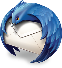 Thunderbird logo. Copyright © Mozilla, file under MPL2